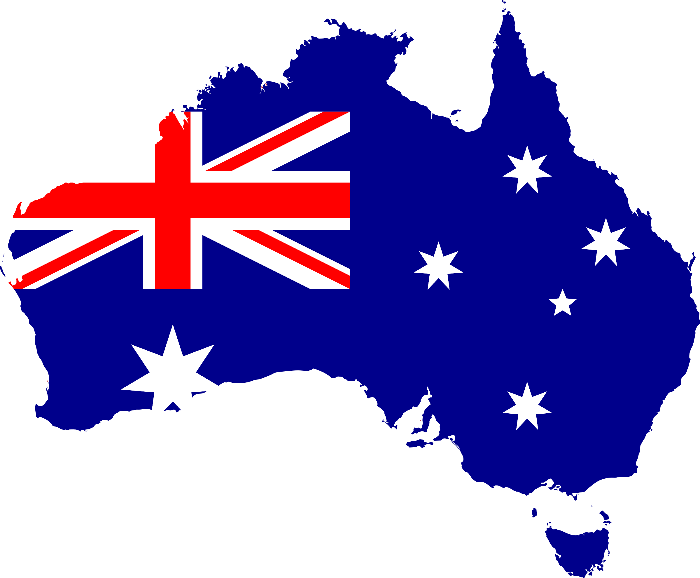 graphic free library Flag map icons png. Australia clipart pdf