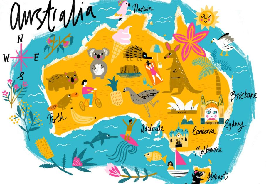 svg transparent download Australia drawing. A of abc news