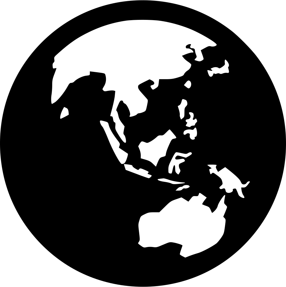 clipart download Asia australia png icon. Earth svg drawing