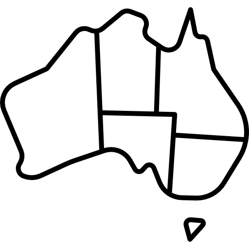 clipart transparent stock Australia drawing easy. Map free maps and
