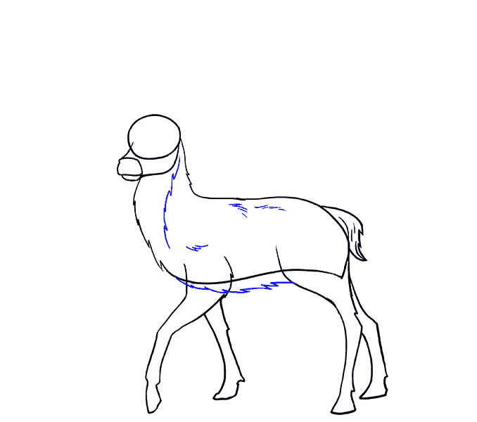 svg royalty free library How to Draw a Deer in a Few Easy Steps
