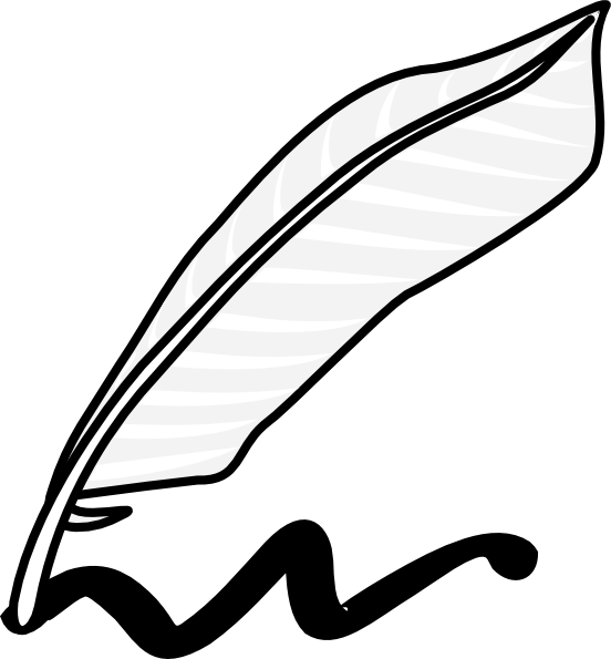 svg library library Writing Clipart