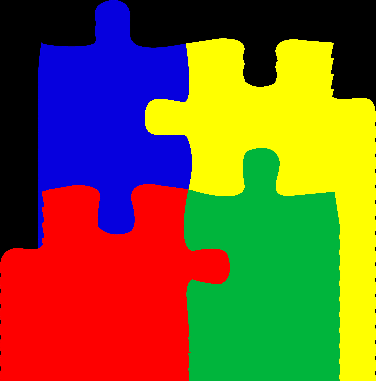 clip art freeuse download Puzzle images panda free. Autism clipart.