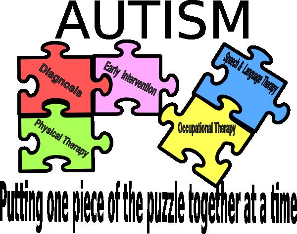 transparent Puzzle logo clip art. Autism clipart