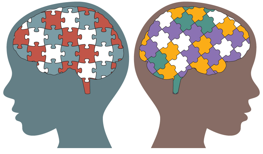 vector royalty free download Transparent . Autism clipart autism brain