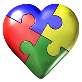 clip free stock Powerpoint presentation and student. Autism clipart autism heart