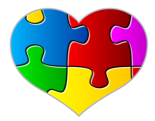 banner library stock Png . Autism clipart autism heart