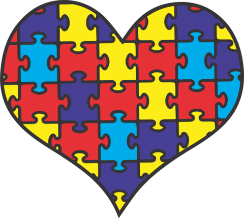 png free stock Autism clipart autism heart. Causes transfers albb blanks