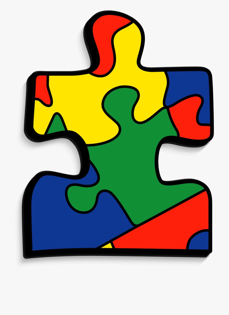 freeuse stock Puzzle transparent clear piece. Autism clipart autism symbol