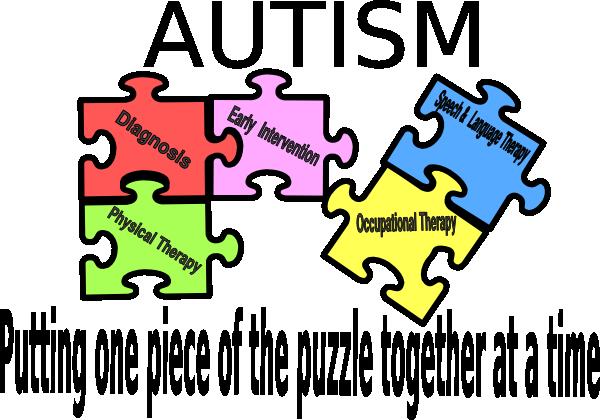 picture freeuse library Autism clipart autism symbol. Puzzle logo clip art