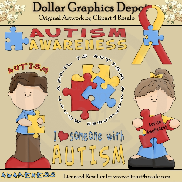black and white . Autism clipart cultural awareness