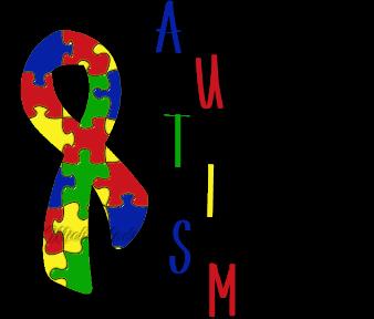 clipart stock Autism clipart cultural awareness. April is month e