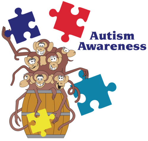 jpg freeuse library April is awareness month. Autism clipart developmental delay
