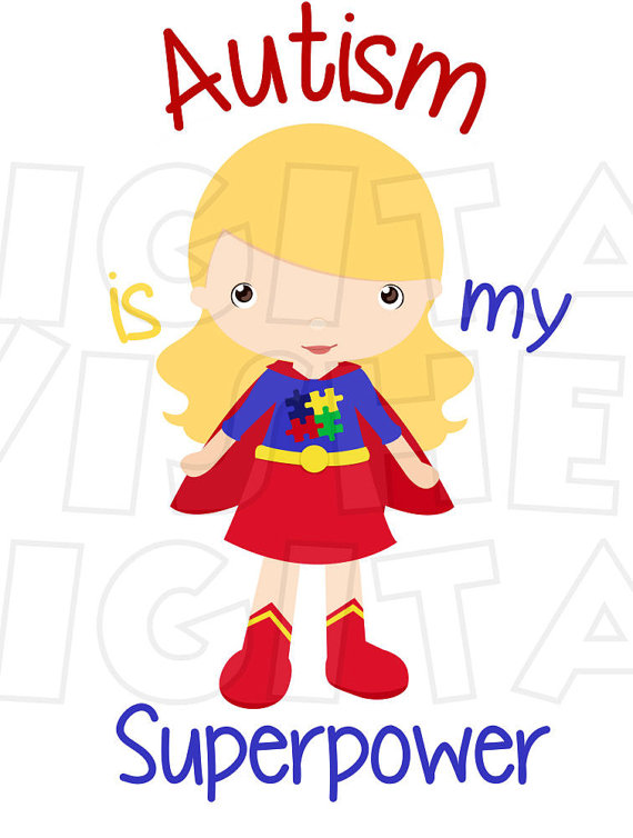 free download Superpower transparent . Autism clipart supe