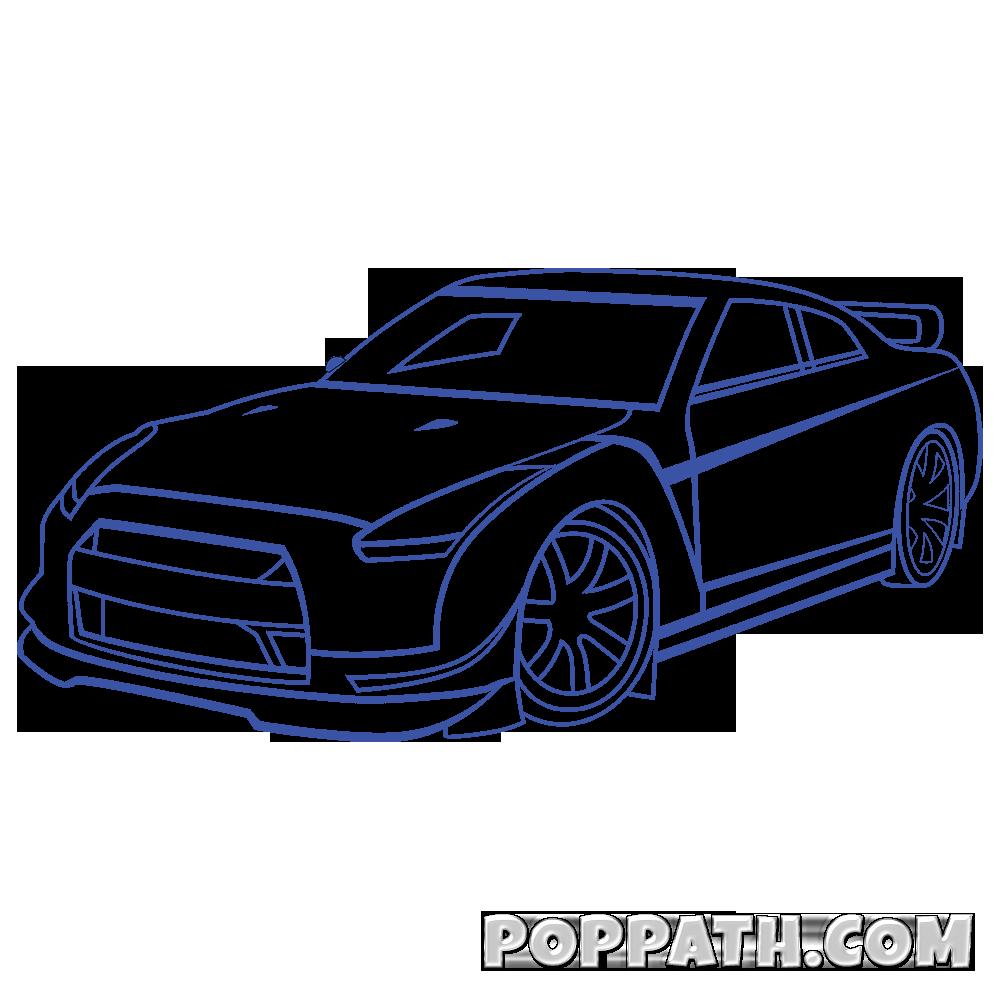 banner royalty free Car Drawing Image at GetDrawings
