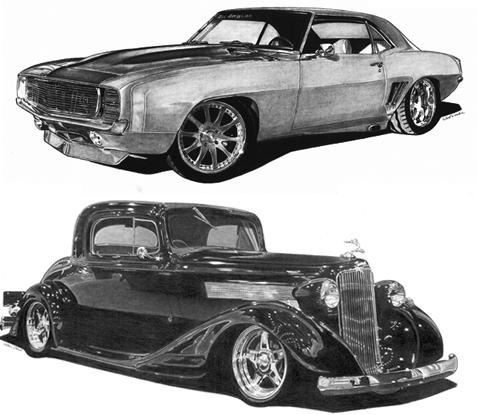 clipart transparent Ghetto drawing custom car. Automotive artwork of the