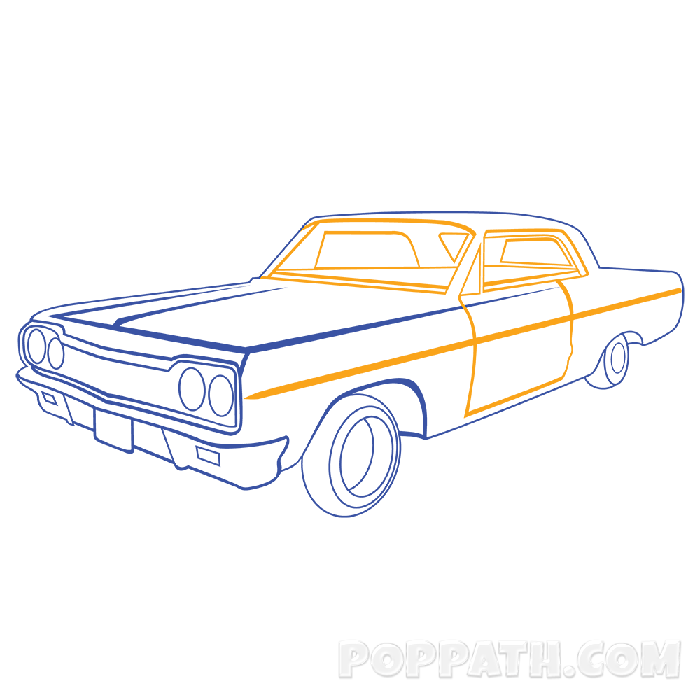 banner transparent How To Draw A Classic Car