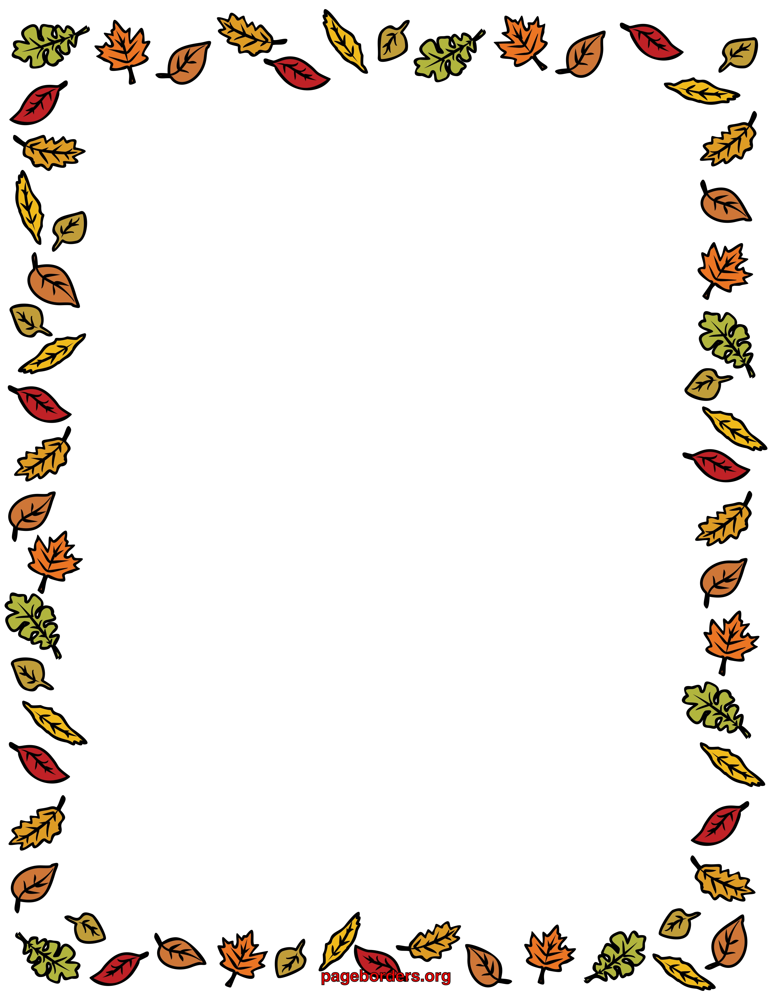 svg black and white download Free fall download clip. Thanksgiving clipart borders