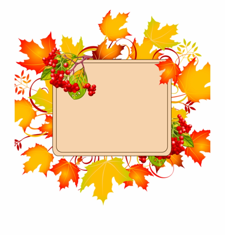 clip art freeuse library Autumn border clipart. Fall free borders clip