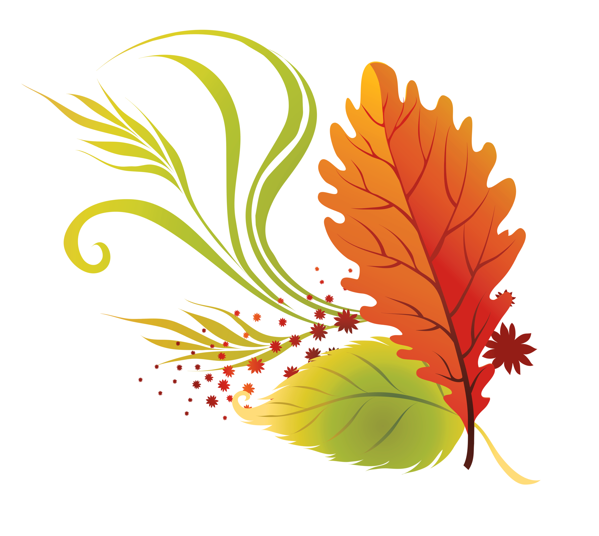 banner royalty free stock Fall leaves clip art. Autumn clipart.