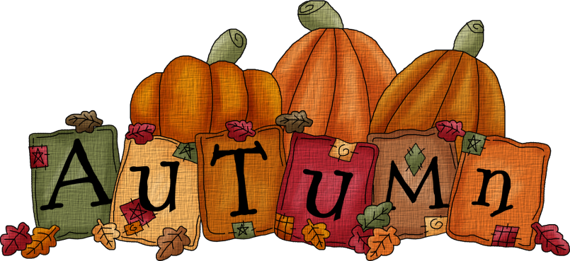 png transparent download Happy fall clipart. The word autumn clip