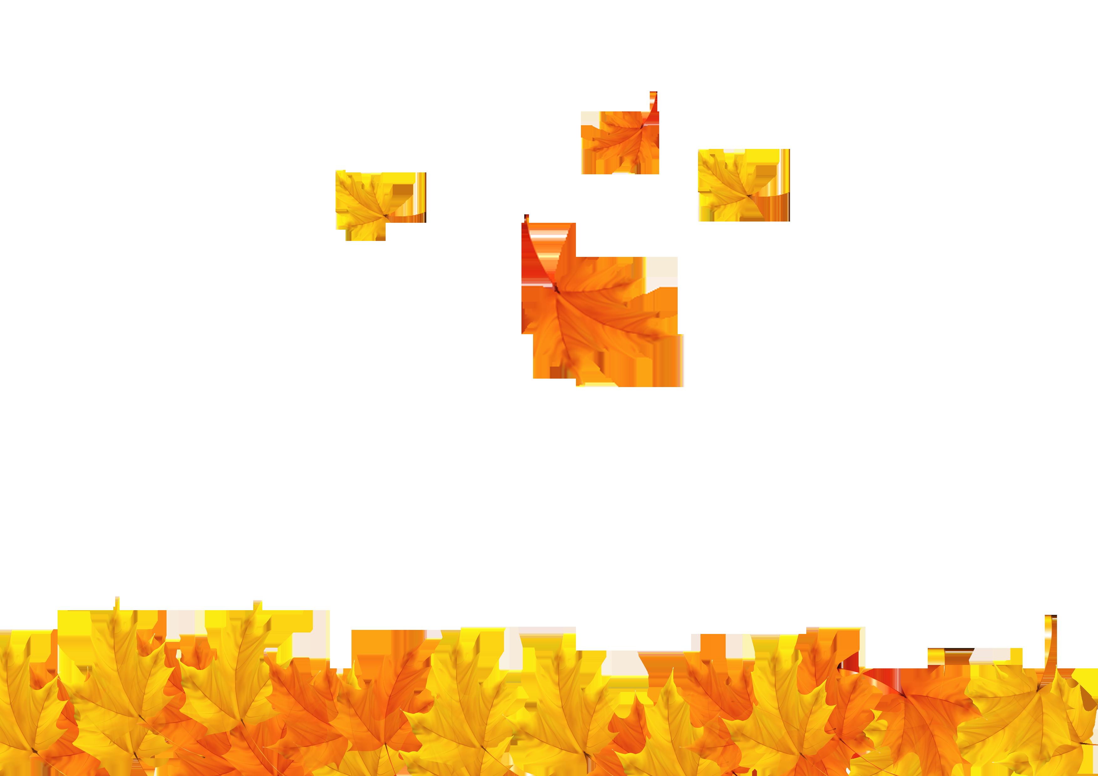 vector Fall background clipart. Autumn leaf clip art