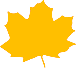 freeuse stock Yellow Fall Leaf Clip Art at Clker
