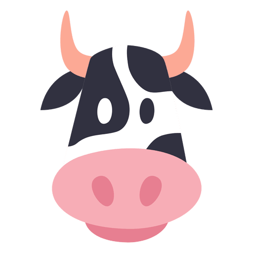 clip art free library Cow transparent png svg. Vector avatar animal