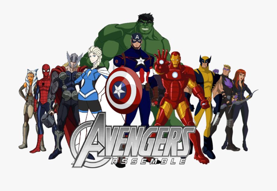 graphic transparent stock Avengers clipart. America hulk thor avangers