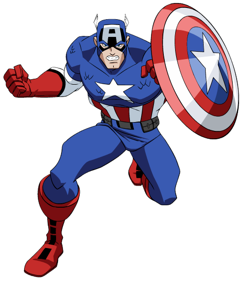 png free library Free superhero clip art. Avengers clipart