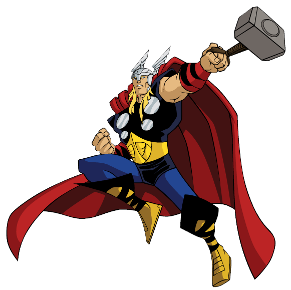 clipart royalty free library Thor clipart. Avengers panda free images