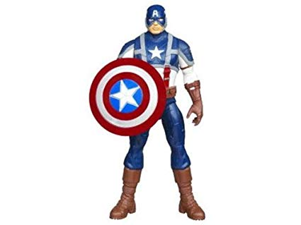 clip art black and white stock Inch hero movie captain. Avengers clipart action figure.