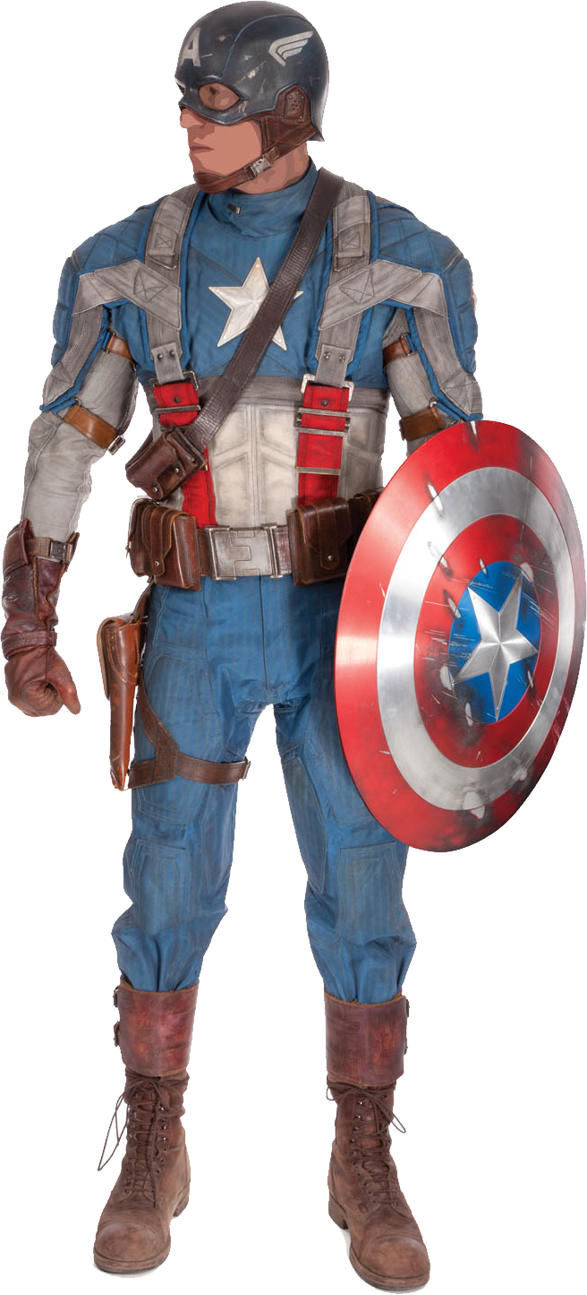 royalty free library Captain america png image. Avengers clipart action figure.