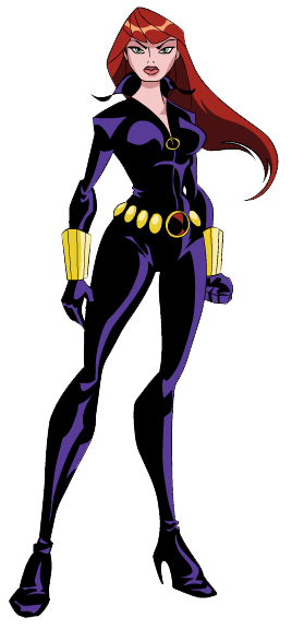 png royalty free stock . Avengers clipart black widow.