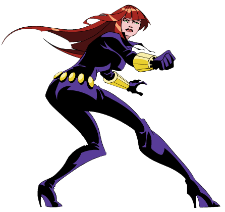image freeuse stock Avengers clipart black widow. Marvels .