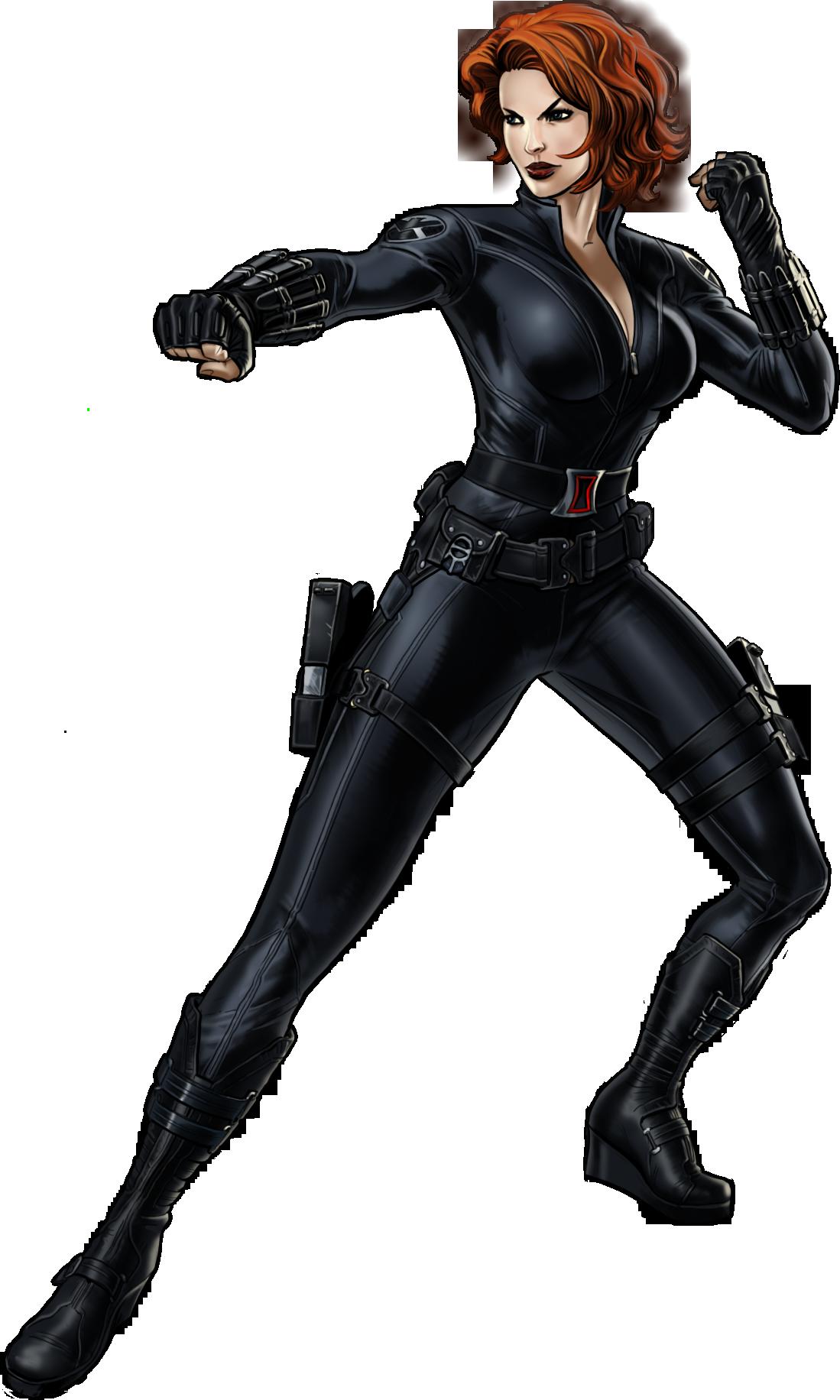 image stock Avengers clipart black widow. Image b portrait art.