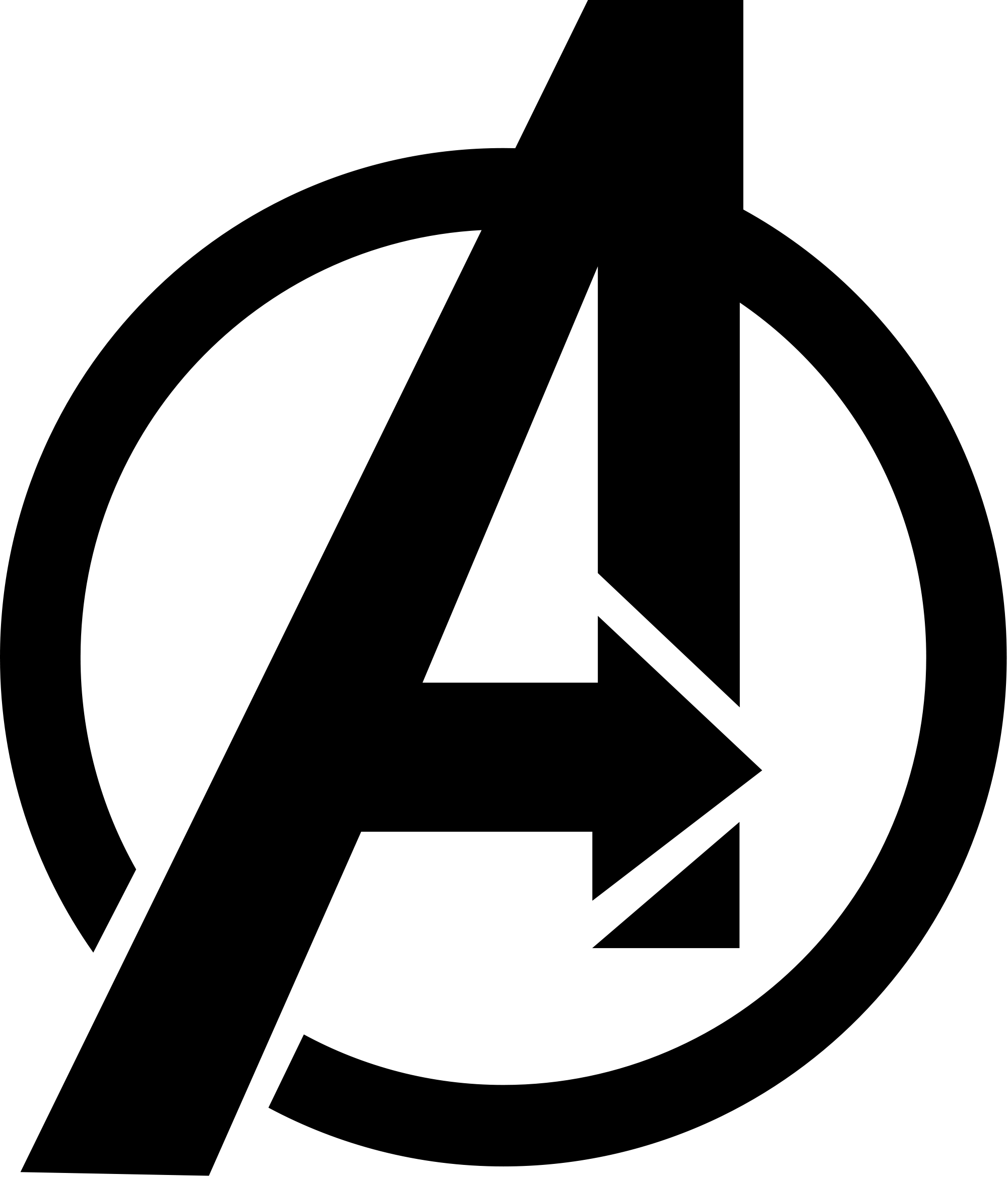 jpg transparent stock Avengers svg. File symbol from marvel