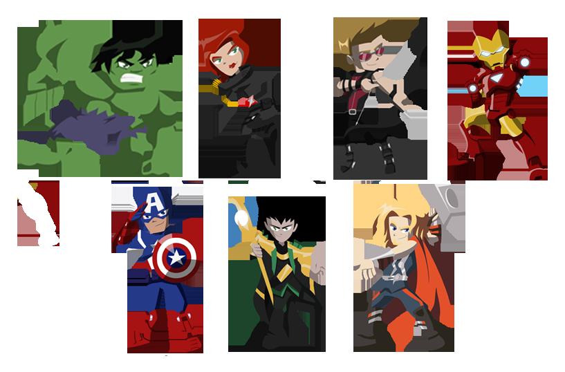 svg free stock Avengers by NightLokison on DeviantArt