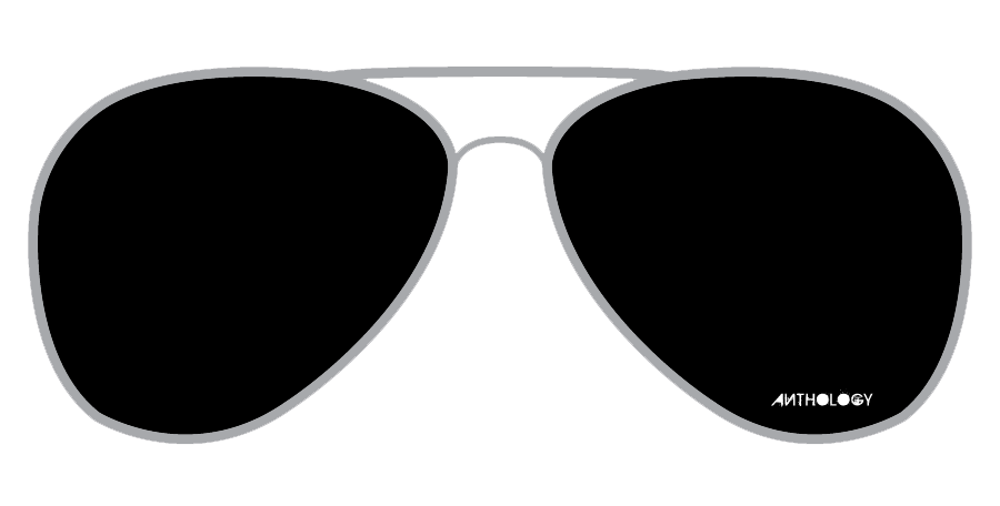 black and white library  collection of sunglasses. Aviator clipart