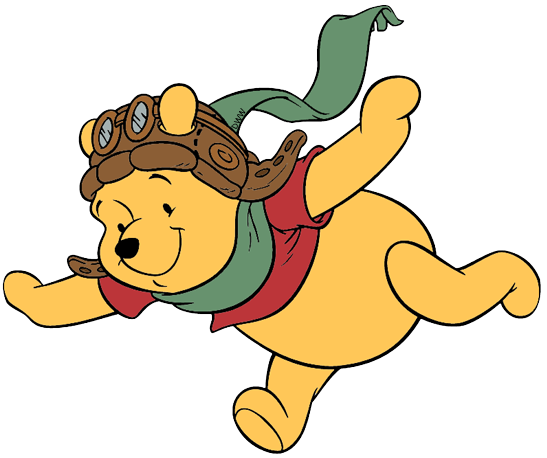 png freeuse Winnie the pooh clip. Aviator clipart child.