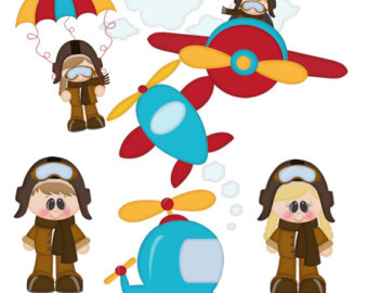 vector royalty free stock Free cliparts download clip. Aviator clipart child.
