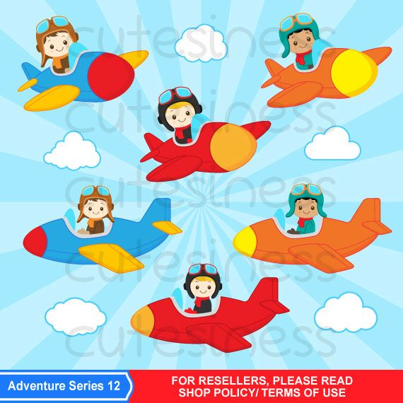 svg royalty free Aviator clipart little pilot. Airplane .