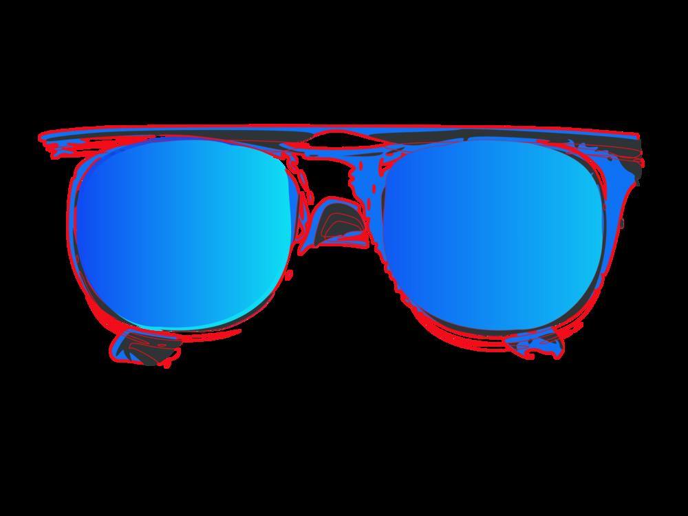 vector transparent stock Eyewear sunglass hut free. Aviator clipart mirrored sunglasses.