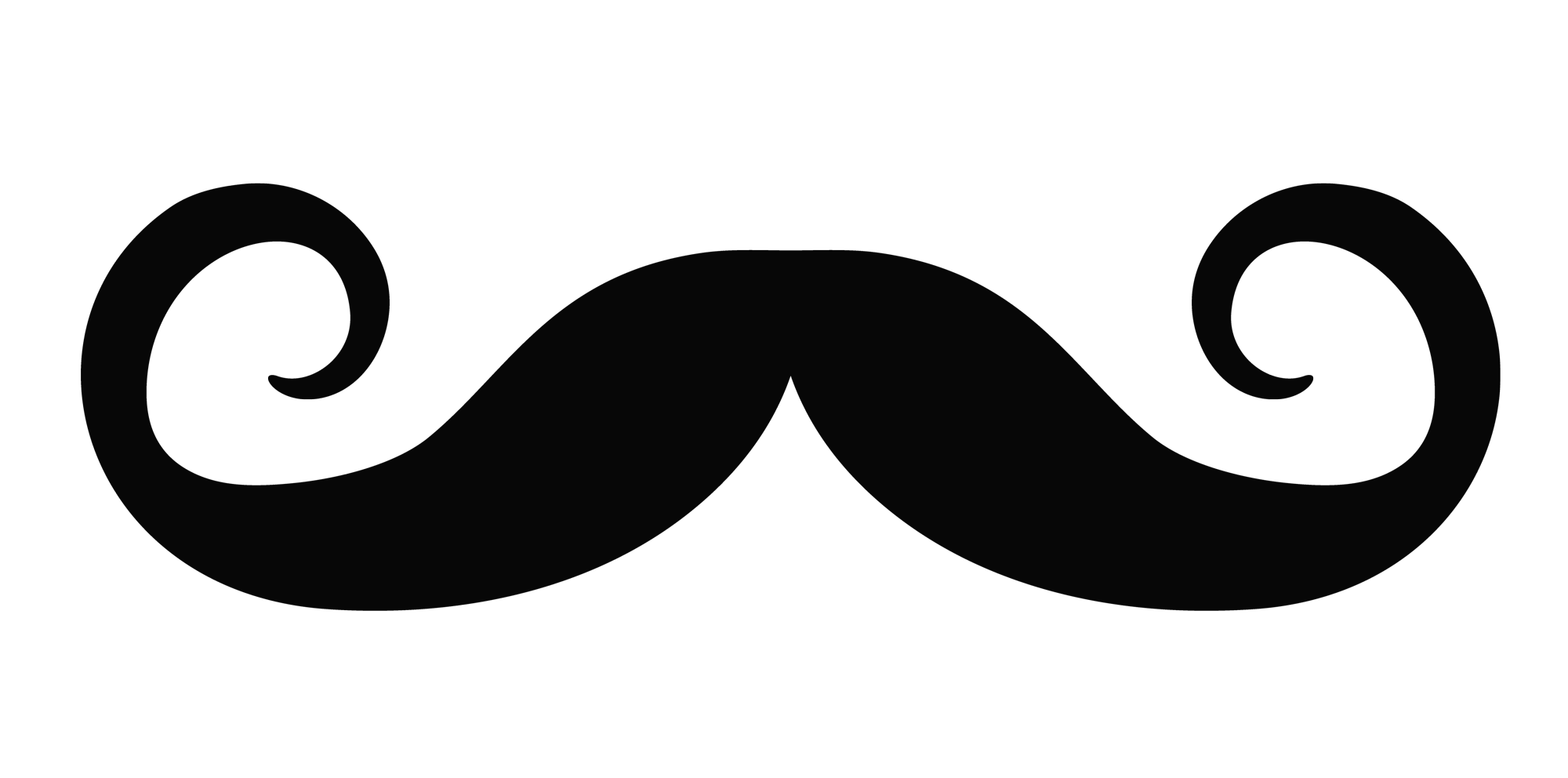 vector royalty free Moustache silhouette at getdrawings. Monocle clipart mario mustache.