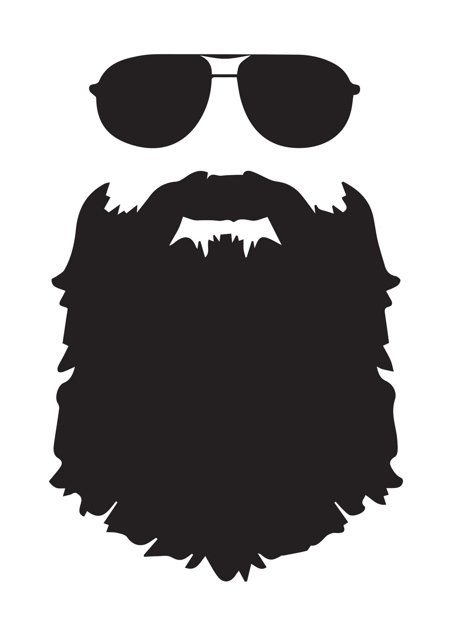 picture royalty free download With aviator sunglasses u. Beard clipart cool shades