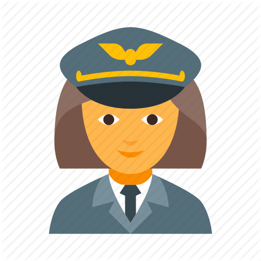 banner transparent library Aviator clipart pilot girl. People by plastic donut.