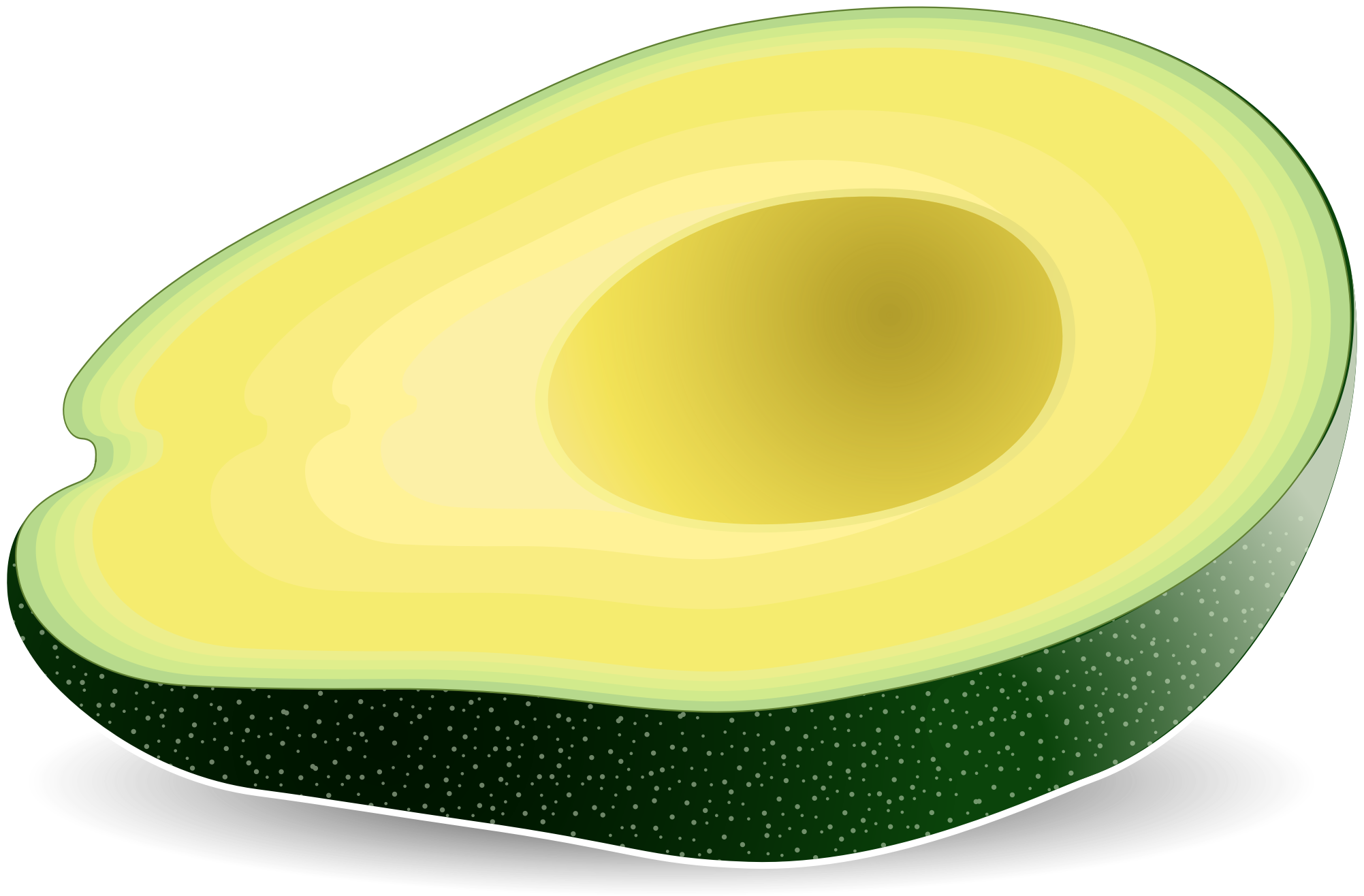 clipart royalty free stock Big image png. Avocado clipart.