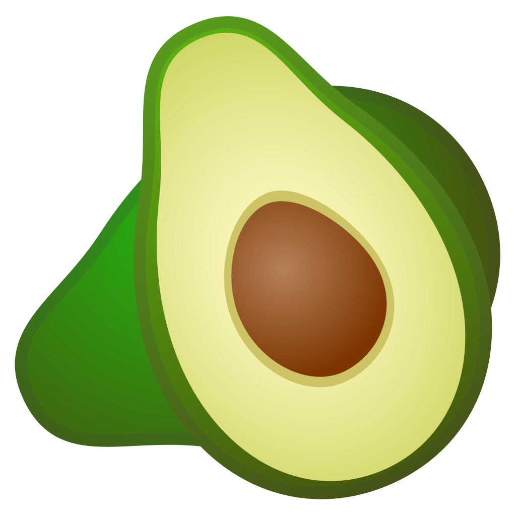 banner transparent download Avocado Icon