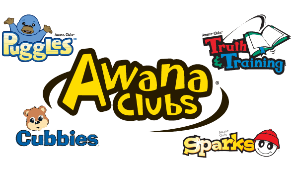 banner black and white Awana clipart club awana. Monticello baptist church.