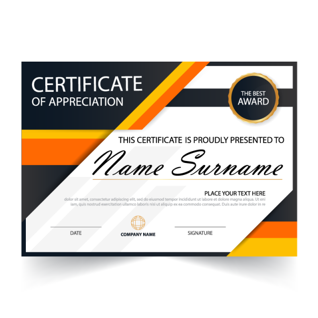 picture transparent stock Vector certificate. Awards png vectors psd